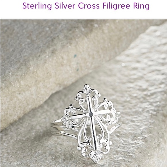 VERA & CO Jewelry - STERLING SILVER FILAGREE RING